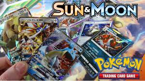 Japanese Sun Booster Box! Pokemon Sun and Moon opening - YouTube