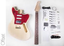 diy electric guitar kit jaguar style