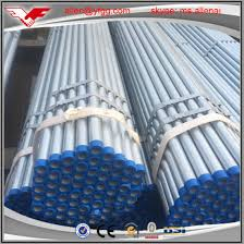 China Youfa Brand Hot Dipped Galvanized Fence Post Erw Steel Pipes Price China Galvanized Steel Pipe Scaffodling Galvanized Pipes