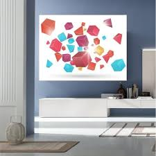 Shop Geometric Shape Full Color Wall Decal Sticker An 703 Frst Size40 X63 Overstock 20872169