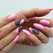 terrific designs for oval nails
