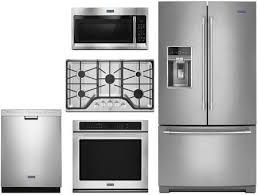 maytag 5 piece kitchen appliances