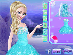 frozen elsa makeup game play