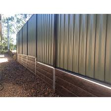 Ridgi 580 X 50 X 3mm Galvanised Steel Fence Bracket Bunnings Warehouse