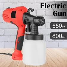 650w Paint Sprayer 800ml Electric Airless Spray Gun Tool Wall Handheld Outdoor Fence Home Diy Shopee Philippines