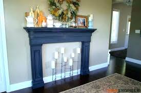 building wood fireplace surround