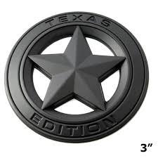 Big Badge Car Fender Trunk Lid Door Grille 3d Texas Edition Emblem Dec Xotic Tech