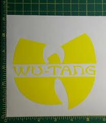 Wu Tang Clan Funny Car Van Bumper Window Vinyl Decal Sticker Jdm Hip Hop Gza Jap Gtti Gm