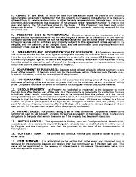 100 consignor agreement template