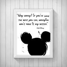 disney quote poster digital children s decor disney