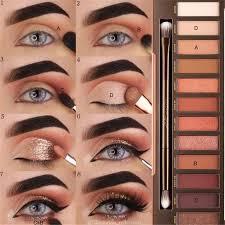 how do u do smokey eye makeup cat eye