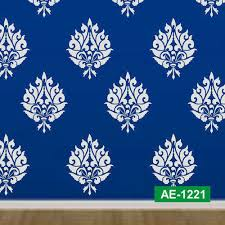 ethnic wall stencil at rs 70 piece