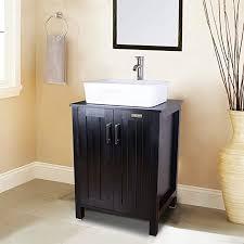 24 inch black bathroom vanity cabinet