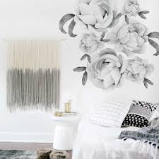 Peonies Wall Decal Oversized Wall Decal For The Nursery Shop Now