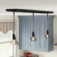 lindley 3 light kitchen island
