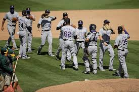 Colorado Rockies take fourth straight behind German Marquez, more ...