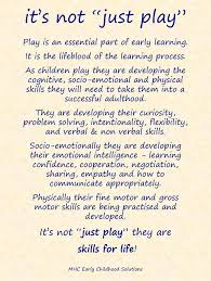 it s not just play from mhc early childhood solutions early
