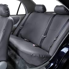 pu leather split bench seat covers
