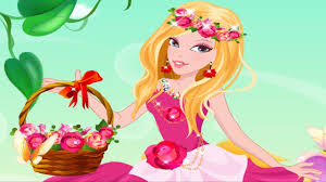 beautiful flower princess dress up game