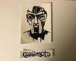 Mf Doom Quasimoto Hip Hop Rap Vinyl Decal Sticker Set Ebay