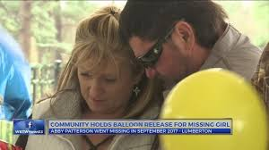 Lumberton community held balloon release for Abby Patterson