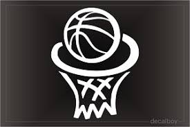 Basketball Decals Stickers Decalboy