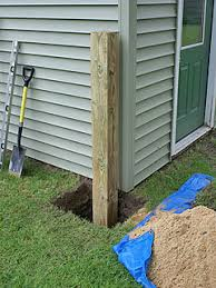 How To Install A Heavy Duty Fence Post For A Wide Gate