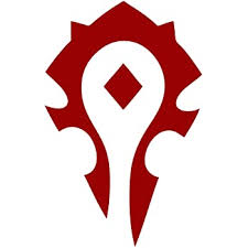 Amazon Com Spdecals World Of Warcraft Horde Car Window Vinyl Decal Sticker 4 Red Automotive