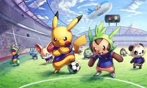 pokemon playing football backgrounds