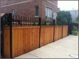 The Simple Design Minimalist Fence Houses Iron And Wood Wrought Iron Fences Wood Gate Rod Iron Fences