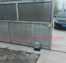 Metal Roller Wheel Gate Motor Door Opener Automatic Door Locker Gate Pulley Sliding Operator Gate Opener Motor Access Door Kit Aliexpress