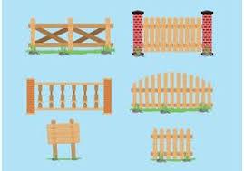Farm Fence Free Vector Art 679 Free Downloads