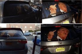 Scary Hidden Trump Or Clinton Car Window Decals Indiegogo