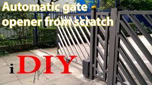 diy gate remote opener for under 50
