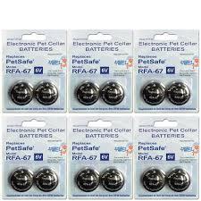 High Tech Pet Petsafe Compatible Rfa 67 6 Volt Replacement Battery 12 Pack Rfa 67 12p The Home Depot