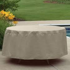 54 round outdoor patio table cover