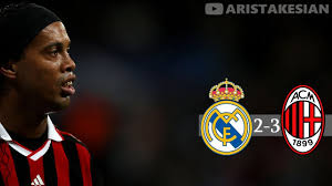 Real Madrid v AC Milan: 2-3 #UCL 2009-2010 Group Stage - (Sky ...