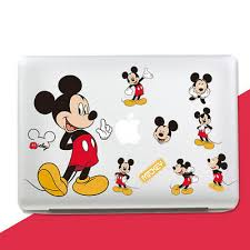 Mickey Mouse Laptop Sticker Mac Wall Stickers Decal Skin Ebay
