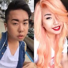 old asian man makeup transformation