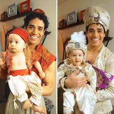 Awww! Aladdin Star Adam Jacobs & His Adorable Twins Celebrate an Arabian  Nights Halloween | Aladdin broadway, Adam jacobs, Aladdin