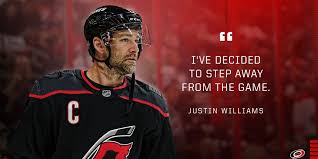 Justin Williams announces he will take a break from NHL: 'I've ...