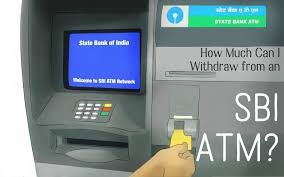 maximum withdrawal limit from sbi atm