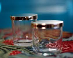 remove candle wax from glass containers