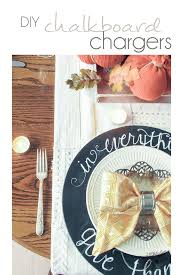 diy chalkboard chargers pocketful of