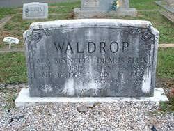 Nancy Ada Bennett Waldrop (1887-1963) - Find A Grave Memorial