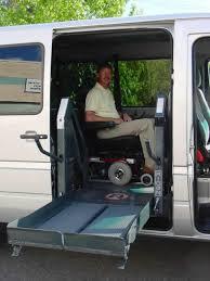 used wheelchair lift vans