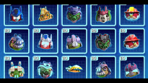Apk mod angry birds transformers 2020 unlimited all/link selalu ...