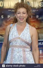 July 09, 2018 - Alex Kingston attending 'Spitfire' World Premiere ...