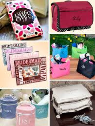 personalize the bridesmaid gifts