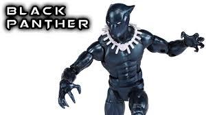 Marvel Legends BLACK PANTHER Vintage Action Figure Review - YouTube